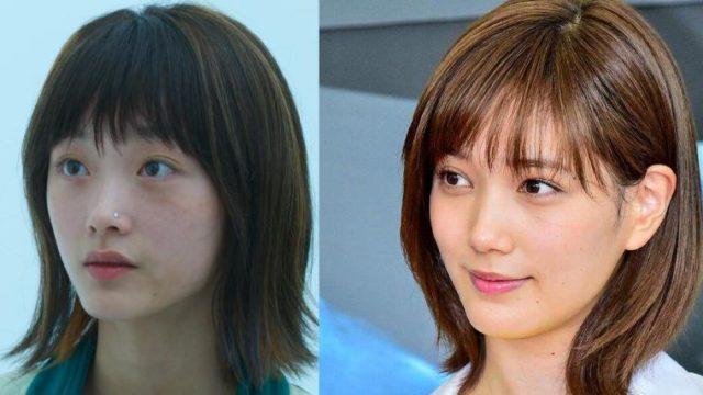 イカゲームの鼻ピアスの女優(イ・ユミ/セビョク)が本田翼に似てると話題に
